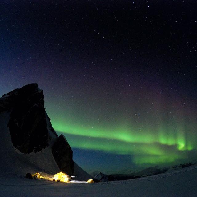 ski camping haines alaska