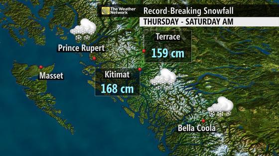 Epic Snowfall in Terrace, BC - Northern Escape Heliski