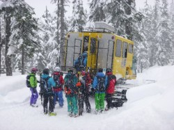 Northern Escape Heli launches Cat Skiing - Cst Skiing Terrace