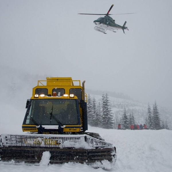 GO heli & cat skiing  snowboarding Canada Alaska