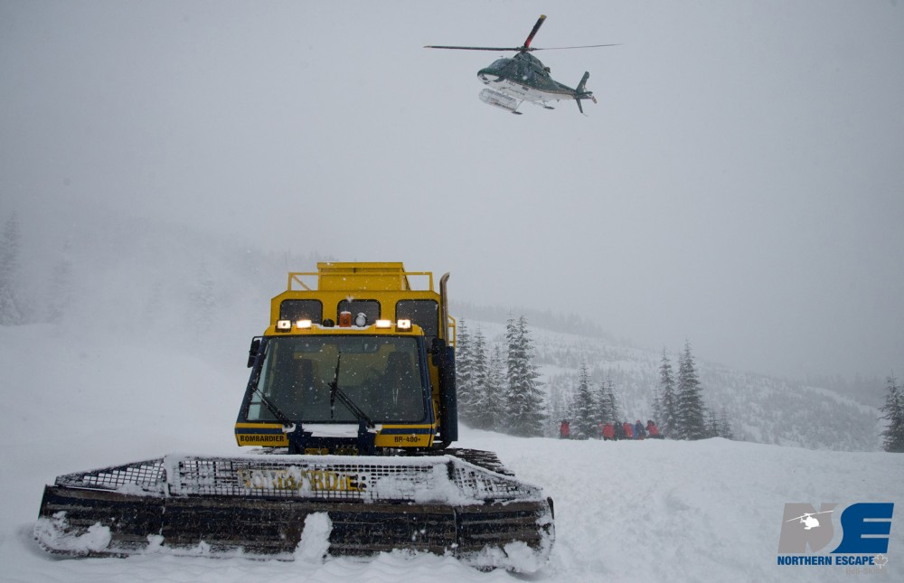 Save on your dream heli-ski vacation at Northern Escape - Heli skiing & Cat skiing - with Go Heli & Cat Skiing
