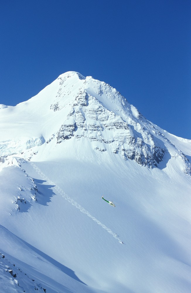 Crescent Spur Heli-Skiing