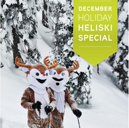 December HeliSki Special at Eagle Pass HeliSki - with GO Heli & Cat Skiing