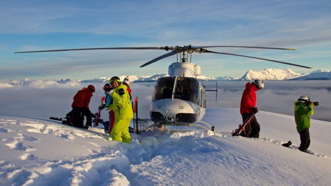 The Freeride Chronicle crew hit Northern Escape Heli-skiing