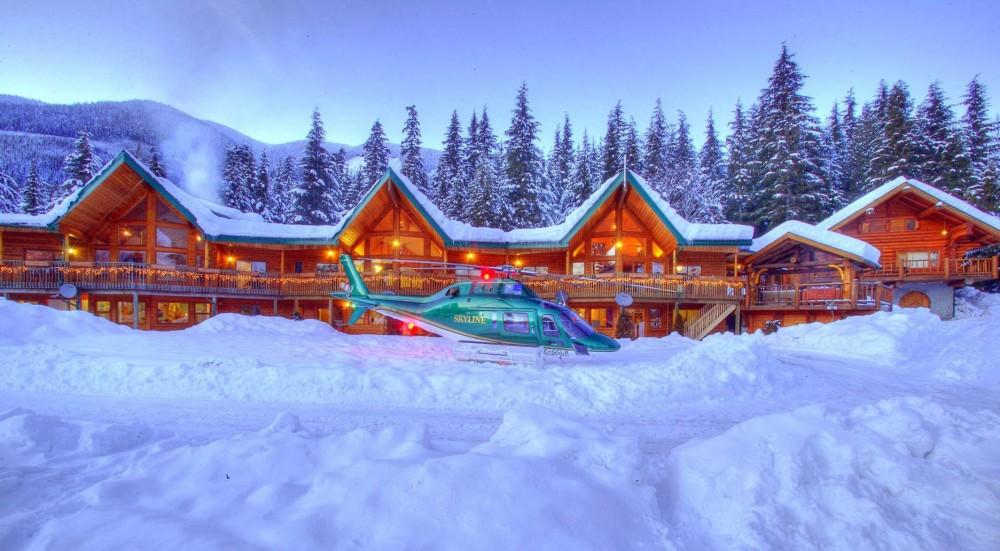 NE heli-skiing terrace bc canada