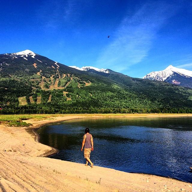Revelstoke, BC, beach life until next ski season - with GO Heli  & Cat skiing