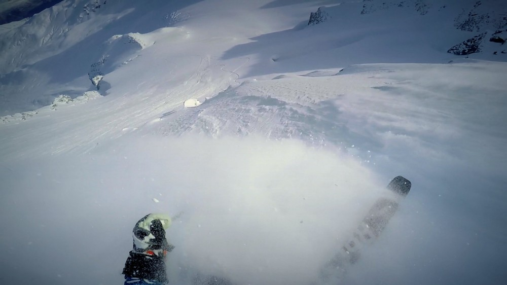 The Freeride World Tour is in Haines, Alaska
