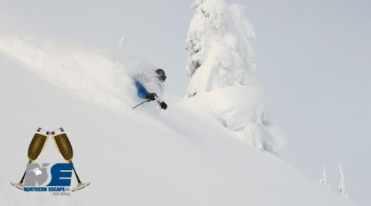 Ring in New Years 2016 in style - Northern Escape Heli skiing