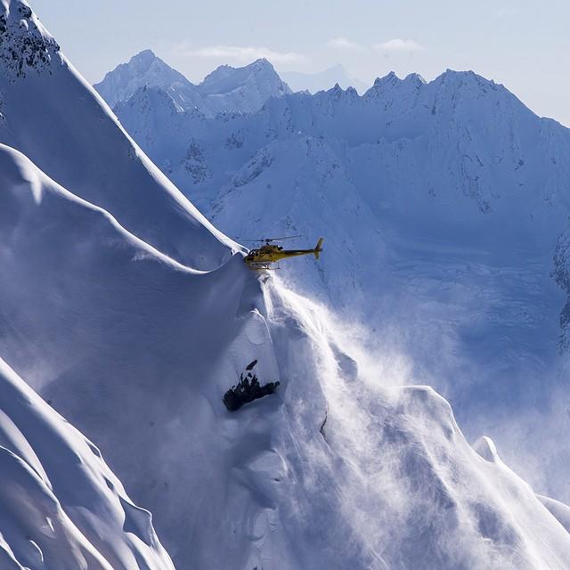 Have you ever done a heli toe-in? - SEABA Heli skiing